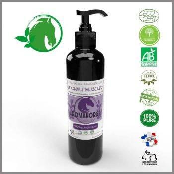 huiles essentielles echauffement muscle chevaux