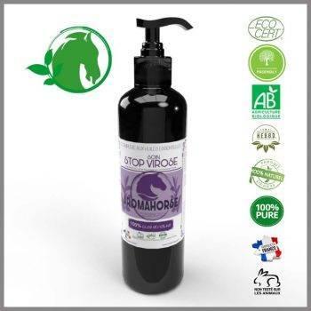 huiles essentielles virose chevaux