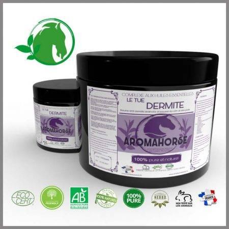 huiles essentielles anti dermite