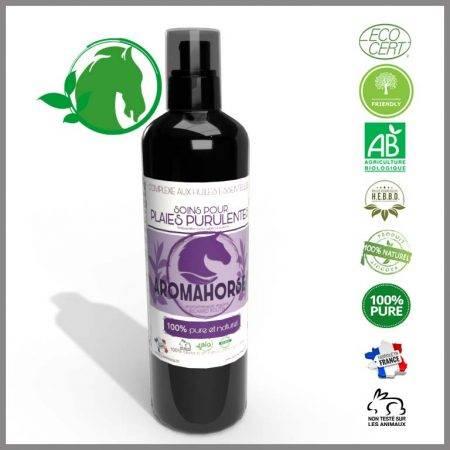 huiles essentielles soin plaies purulentes